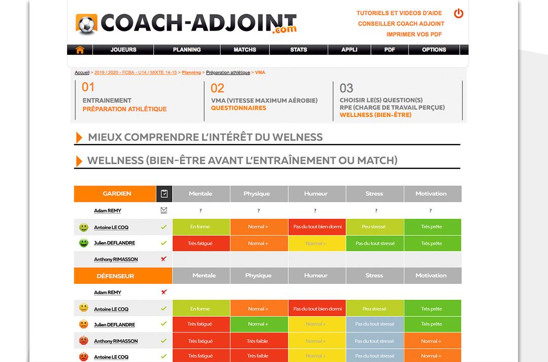 PDF coach adjoint